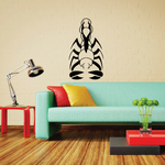 Spiky Abstract Scorpion Decal