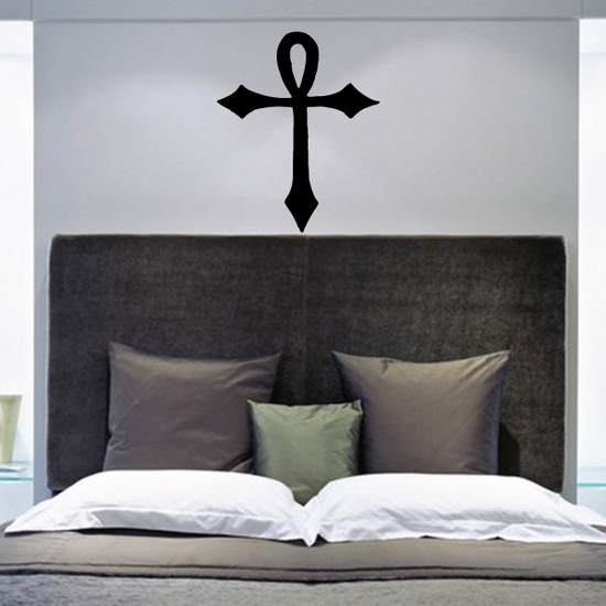 Crossed Ankh Decal