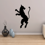 Medieval Wolf Decal