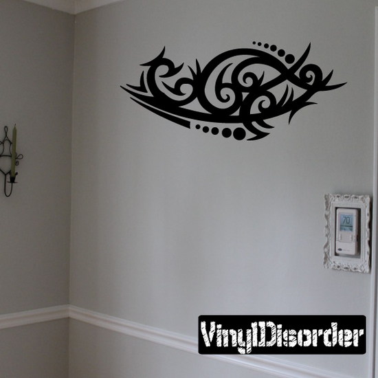 Classic Tribal Wall Decal - Vinyl Decal - Car Decal - DC 018