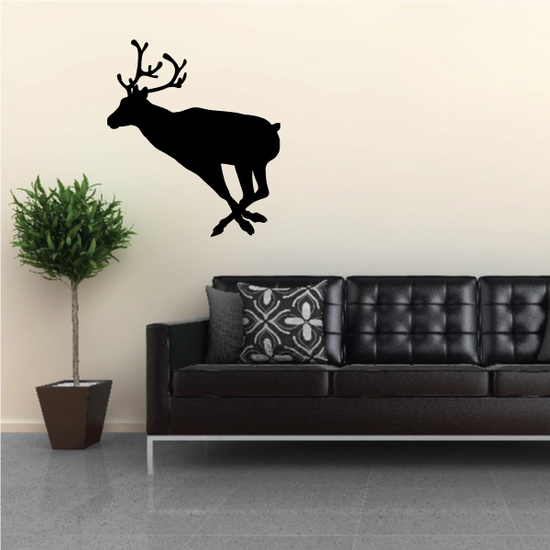 Chasing Reindeer Decal