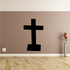Posted Cross Decal