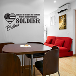 Her Duty Brother Soldier Decal