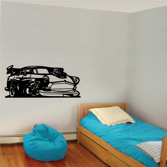 Hot Rod Coupe Decal