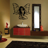 Sultry Butterfly Fairy Decal