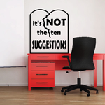 Its not the ten Suggestions Decal
