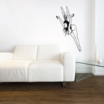 Flapping Fairy Decal