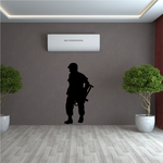 Soldier Looking Decal
