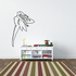 Swooping Fairy Decal