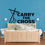 Carry the cross Decal