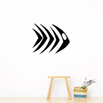 Tribal Fish Wall Decal - Vinyl Decal - Car Decal - DC751