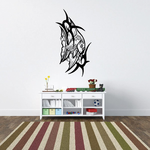 Tribal Fish Wall Decal - Vinyl Decal - Car Decal - DC634