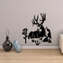 White Tail in Nature Scene Decal