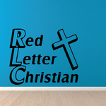 Red Letter Christian Bible Decal