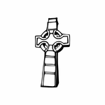 Detailed Cross Decal