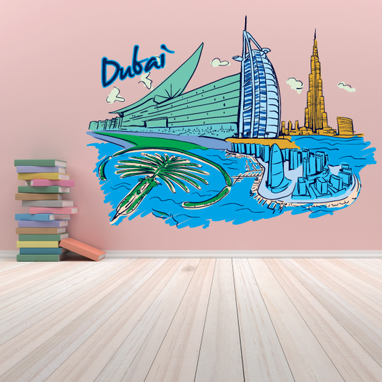 Dubai Sticker