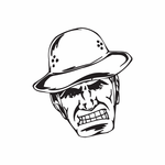 Boonie Hat Soldier Face Decal