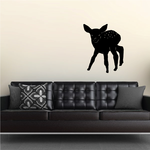 Fawn Deer Crouching Decal