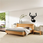Brave Deer Buck Decal