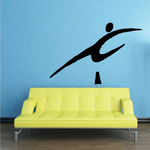 Olympics Leap Obstacle Decal