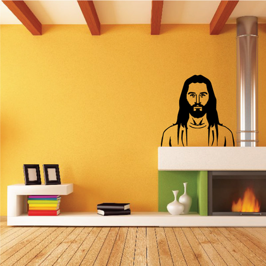 Young Jesus Decal