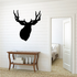 Majestic Deer Buck with Antlers Decal