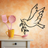 Dove with Branch Decal