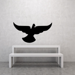 Wings Flapping Dove Decal