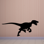 Charging Allosaurus Decal