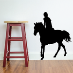 Jumping Horse Wall Decal - Vinyl Decal - Car Decal - NS004