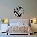 Horseback riding Wall Decal - Vinyl Decal - Car Decal - Bl014