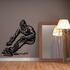Carving the Slope Snowboarding Decal