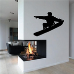 Tail Grab Snowboarding Decal