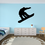 Ollie Snowboarding Decal