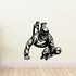 Diving Paintball Player Decal