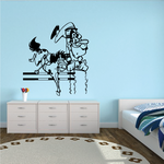 Horse racing Wall Decal - Vinyl Decal - Car Decal - Bl028