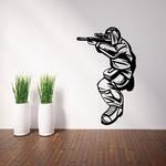 Sniper Paintball Player Decal