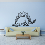 Stegosaurus Outline Decal
