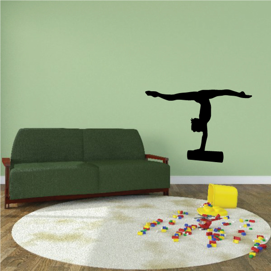 Handstand on Bars Decal