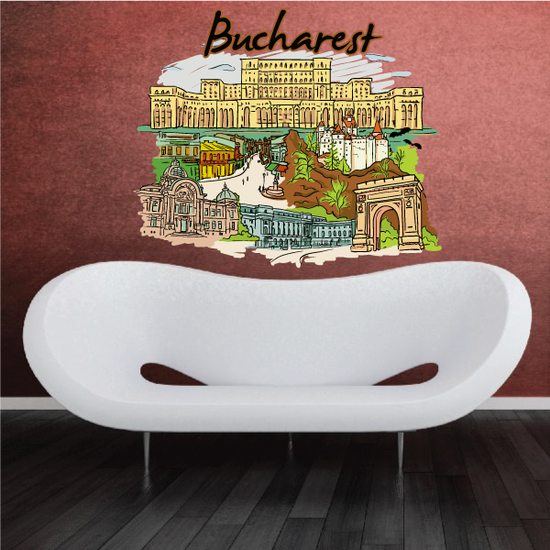 Bucharest Sticker