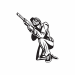 Paintball Wall Decal - Vinyl Decal - Car Decal - DC 018