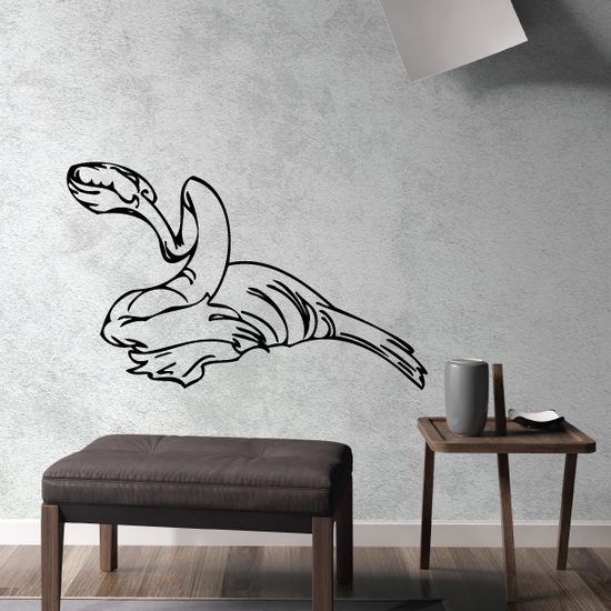 Slithering Dinosaur Decal