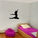 Gymnastics Wall Decal - Vinyl Decal - Car Decal - AL 041