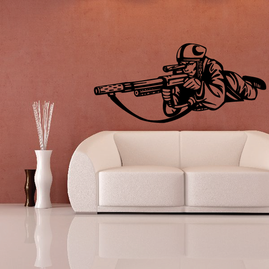 Paintball Wall Decal - Vinyl Decal - Car Decal - CDS0013