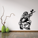 Paintball Wall Decal - Vinyl Decal - Car Decal - CDS0018