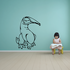 Content Dinosaur Decal