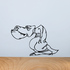 Tired T Rex Decal