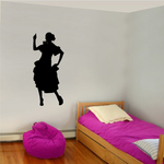 Flamenco Dancers Wall Decal - Vinyl Decal - Car Decal - BA005