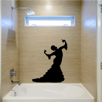 Flamenco Dancers Wall Decal - Vinyl Decal - Car Decal - BA007