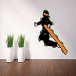 Snowboarding Wall Decal - Vinyl Sticker - Car Sticker - Die Cut Sticker - CDSCOLOR045